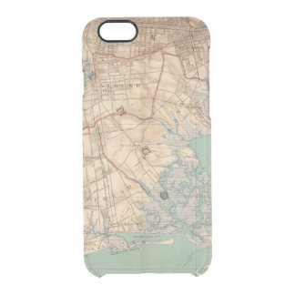 Jamaica Bay and Brooklyn Clear iPhone 6/6S Case