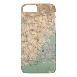 Jamaica Bay and Brooklyn iPhone 8/7 Case