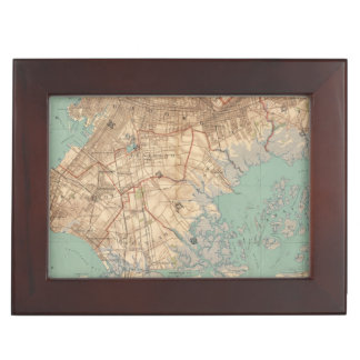 Jamaica Bay and Brooklyn Keepsake Box