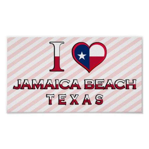 Jamaica Beach, Texas Posters
