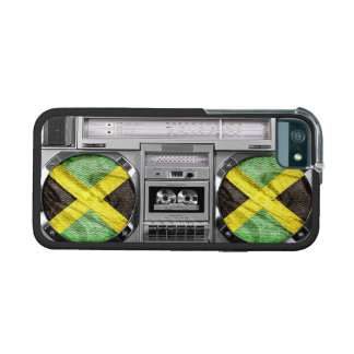 Jamaica boombox case for iPhone 5