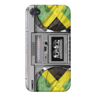 Jamaica boombox iPhone 4/4S covers
