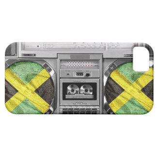 Jamaica boombox iPhone 5 cover