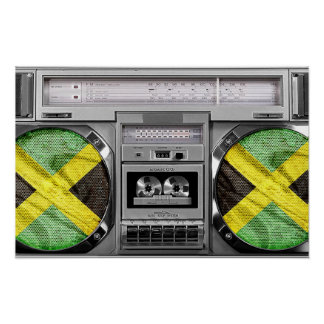 Jamaica boombox posters