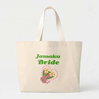 Jamaica Bride Large Tote Bag