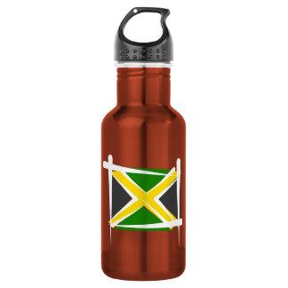 Jamaica Brush Flag 532 Ml Water Bottle