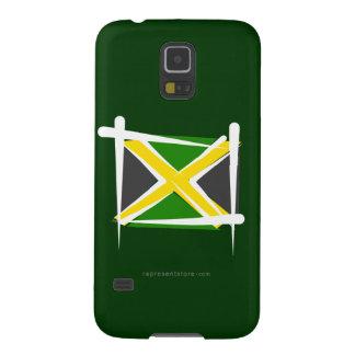 Jamaica Brush Flag Galaxy Nexus Cases
