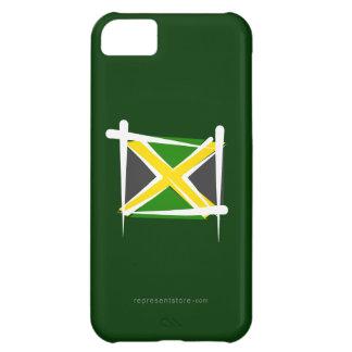 Jamaica Brush Flag Case For iPhone 5C