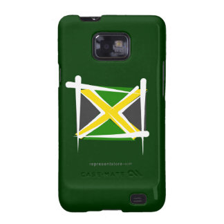 Jamaica Brush Flag Galaxy SII Case