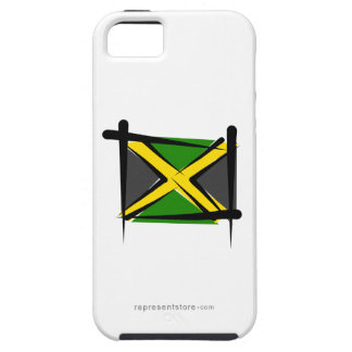 Jamaica Brush Flag iPhone 5 Covers