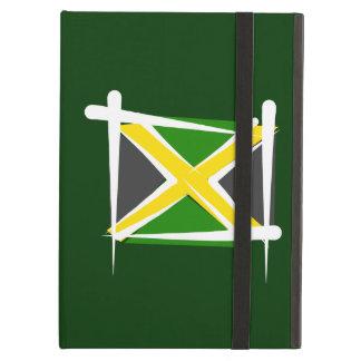 Jamaica Brush Flag iPad Folio Cases