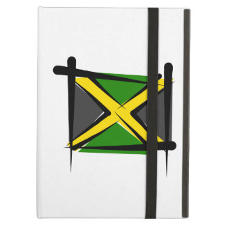 Jamaica Brush Flag Cover For iPad Air