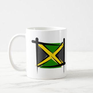 Jamaica Brush Flag Mug