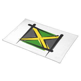 Jamaica Brush Flag Placemats