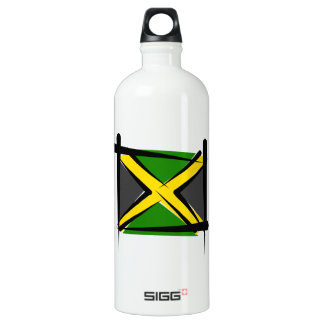 Jamaica Brush Flag SIGG Traveller 1.0L Water Bottle