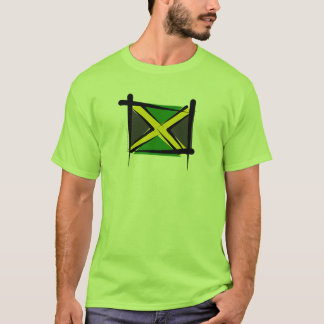 Jamaica Brush Flag T-Shirt