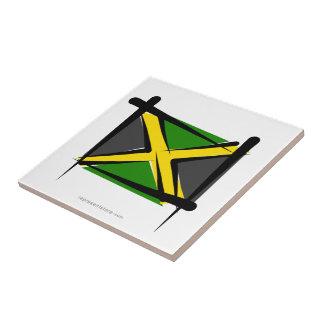 Jamaica Brush Flag Ceramic Tiles