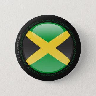 Jamaica Bubble Flag 6 Cm Round Badge