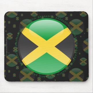 Jamaica Bubble Flag Mouse Pads
