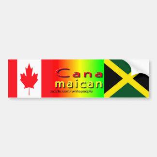 jamaica canadian bumper stickers