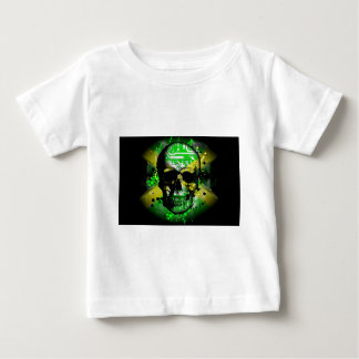 Jamaica circuit Skull Baby T-Shirt