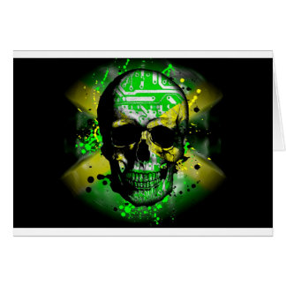 Jamaica circuit Skull Card