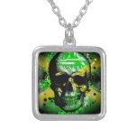 Jamaica circuit Skull Necklaces