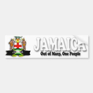Jamaica Coat of Arms Bumper Sticker