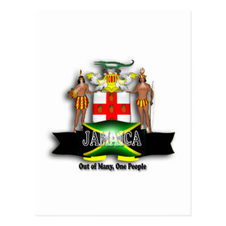 Jamaica Coat of Arms Postcard