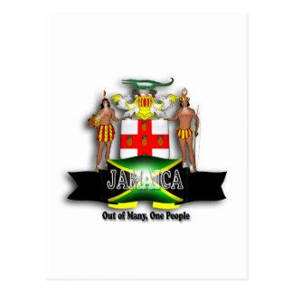 Jamaica Coat of Arms Postcard