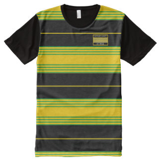 Jamaica Color Fashionable Modern T-Shirt Vacation All-Over Print T-Shirt
