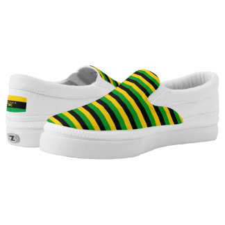 Jamaica Colors Flag Designer Modern Vacation Shoes