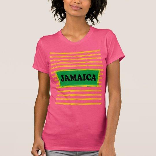 Jamaica Colours Designer#4 Modern Wave T-Shirt