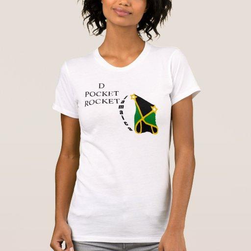 "Jamaica ""D POCKET ROCKET"" Tshirt"