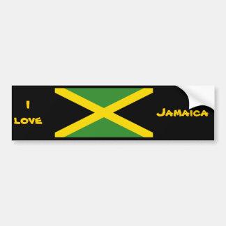 Jamaica designs bumper sticker