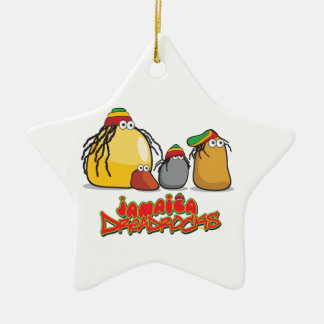 Jamaica DreadRocks Christmas Ornament