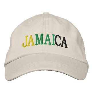 JAMAICA EMBROIDERED HAT