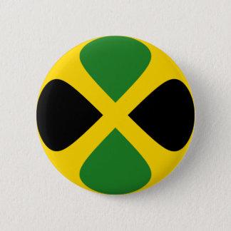 Jamaica Fisheye Flag Button