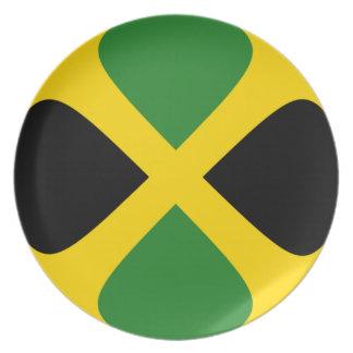 Jamaica Fisheye Flag Plate