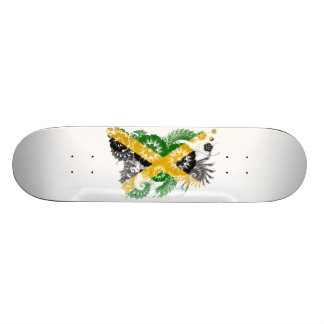 Jamaica Flag 18.1 Cm Old School Skateboard Deck