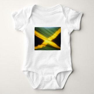 Jamaica Flag Baby Bodysuit