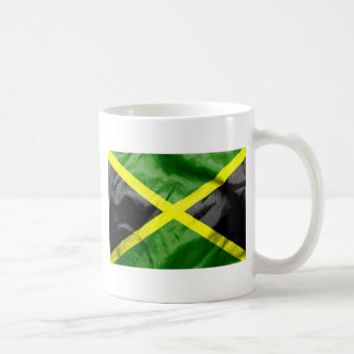 Jamaica Flag Basic White Mug