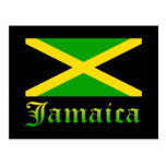 Jamaica Flag, Black, Green and Yellow