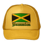 Jamaica Flag, Black, Green and Yellow Hats
