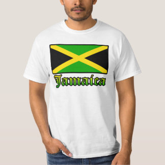 Jamaica Flag, Black, Green and Yellow T Shirts