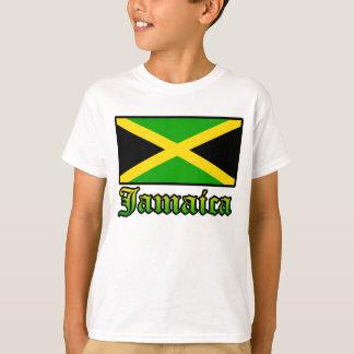 Jamaica Flag, Black, Green and Yellow Tee Shirt