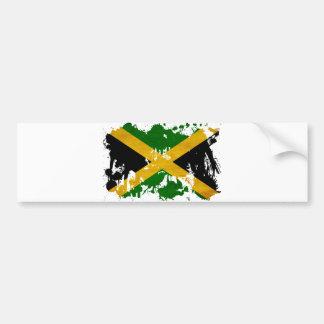 Jamaica Flag Bumper Sticker