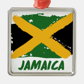 Jamaica flag design christmas ornament