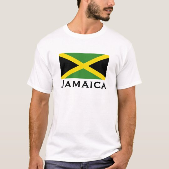 Jamaica Flag Green Yellow Black T-Shirt