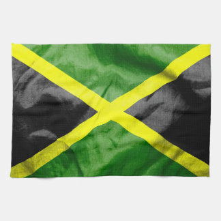 Jamaica Flag Hand Towel